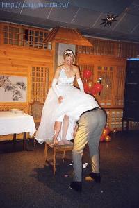 Скрытая камера на свадьбе под платьем
